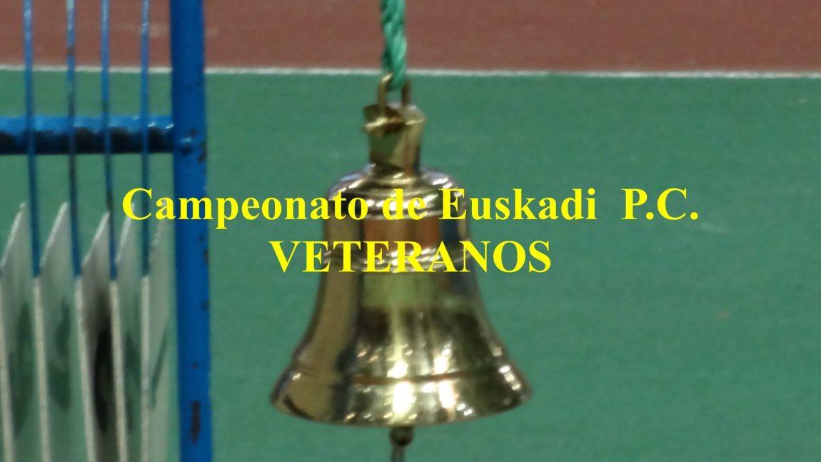 Campeonatos de Euskadi de Veteranos y PLP