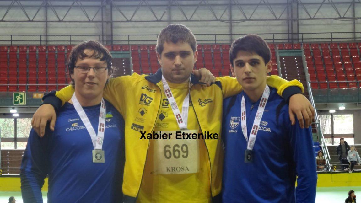 Campeonatos de Euskadi de pista cubierta