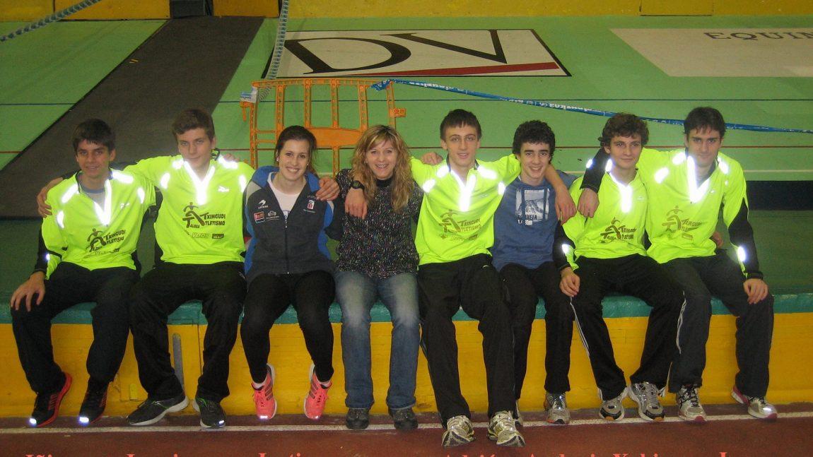 Campeonatos de Gipuzkoa de pista cubierta