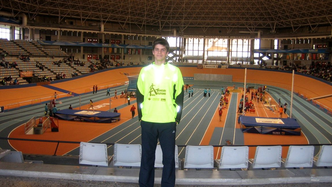 Campeonatos de España Cadete de pista cubierta