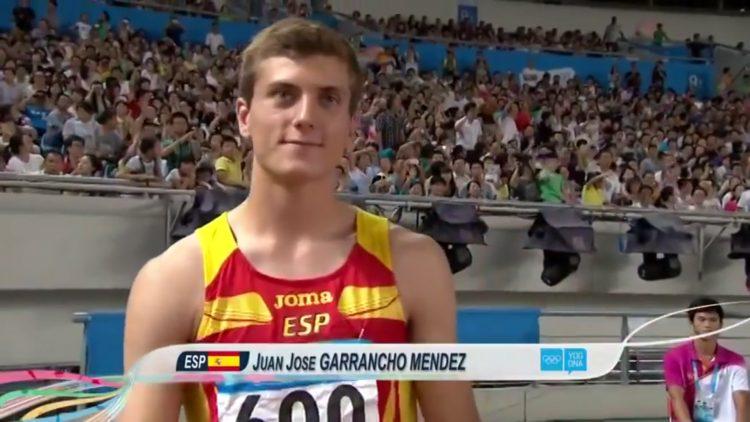 Juan José Garrantxo, quinto puesto en 110 mv de los Juegos Olímpicos de la Juventud