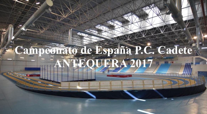 CAMPEONATO DE ESPAÑA CADETE P.C.