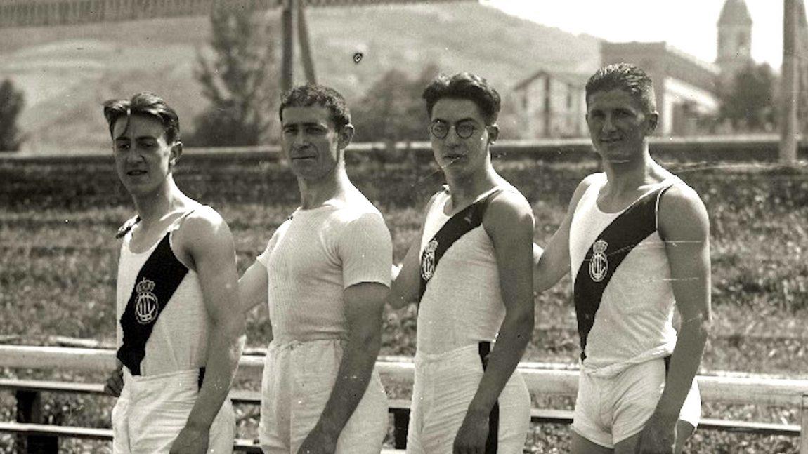 RELEVO 4X100 ML DEL REAL UNIÓN IRUN (TOLOSA 1929)