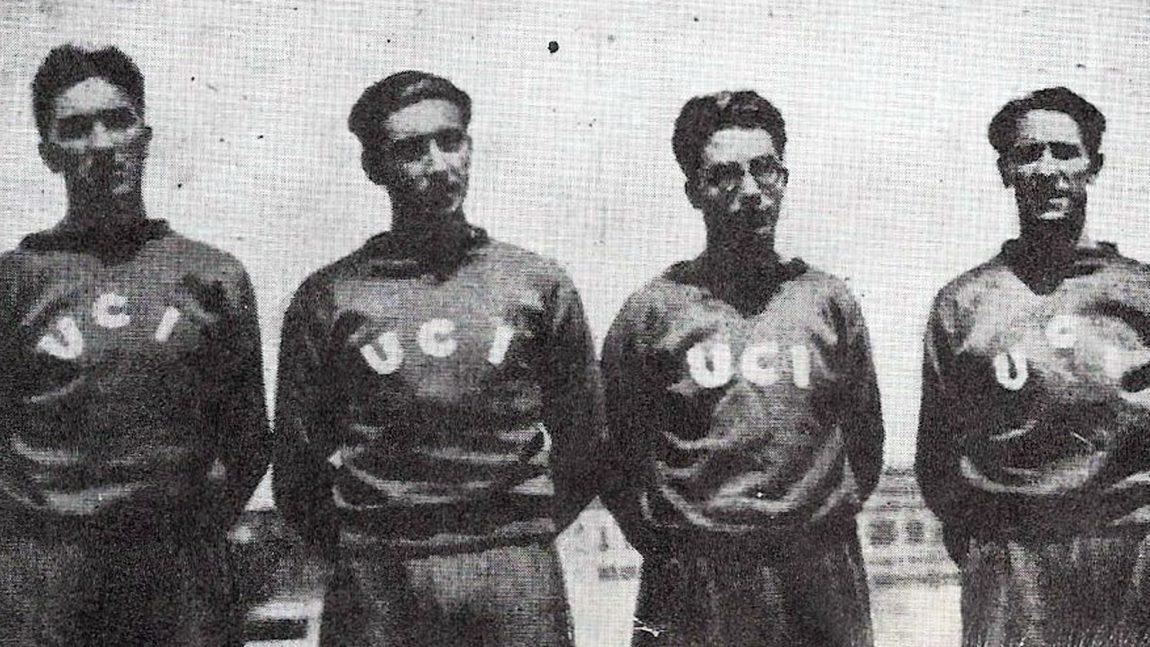 RELEVO 4X100 ML DEL UNIÓN CLUB IRUN (MADRID 1933)