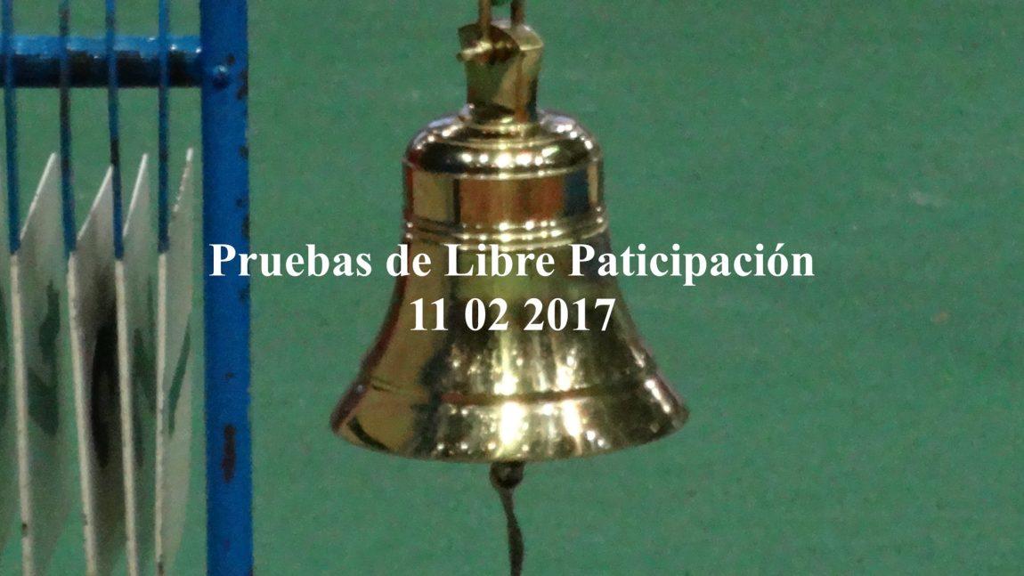 PRUEBAS DE LIBRE PARTICIPACION EN ANOETA