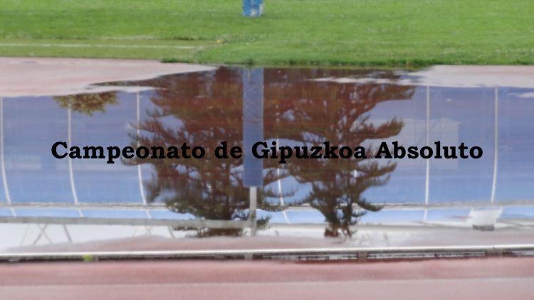 CAMPEONATO DE GIPUZKOA ABSOLUTO